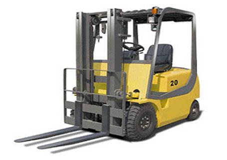 力尔美cpd系列2吨四轮电动平衡重叉车